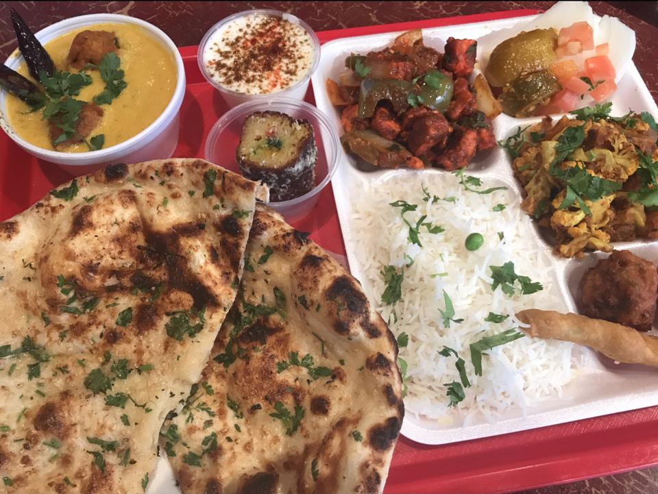 Usha Foods, a South Asian food company in Queens, offers many South Indian specialties on its fast-food menu.
