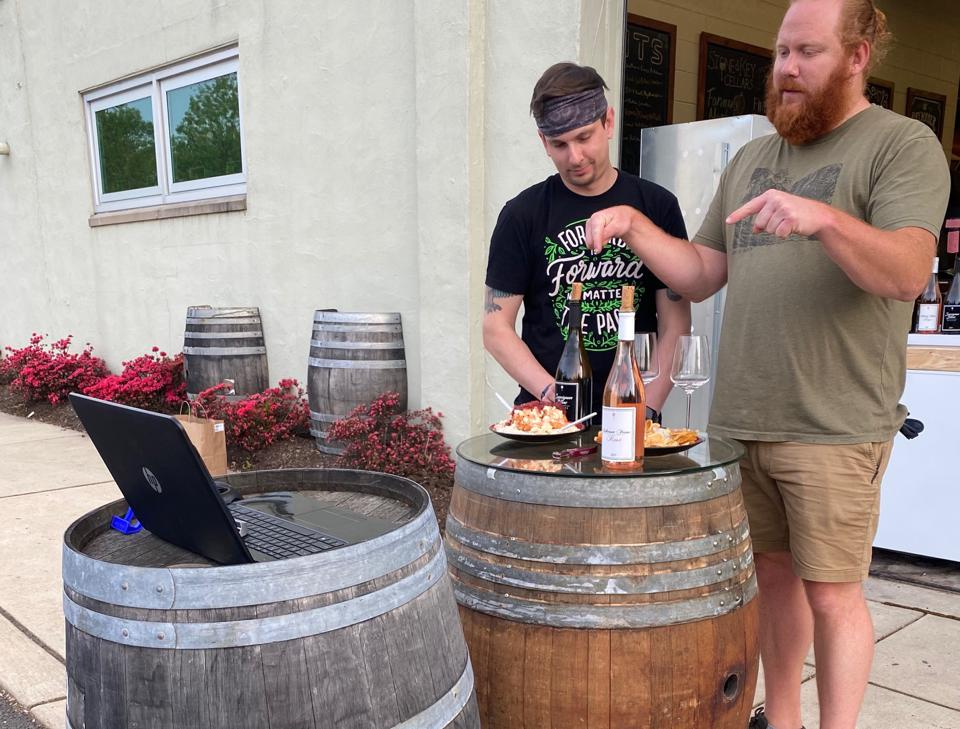 Stone & Key Cellars has had to change its model in the age of Covid-19.