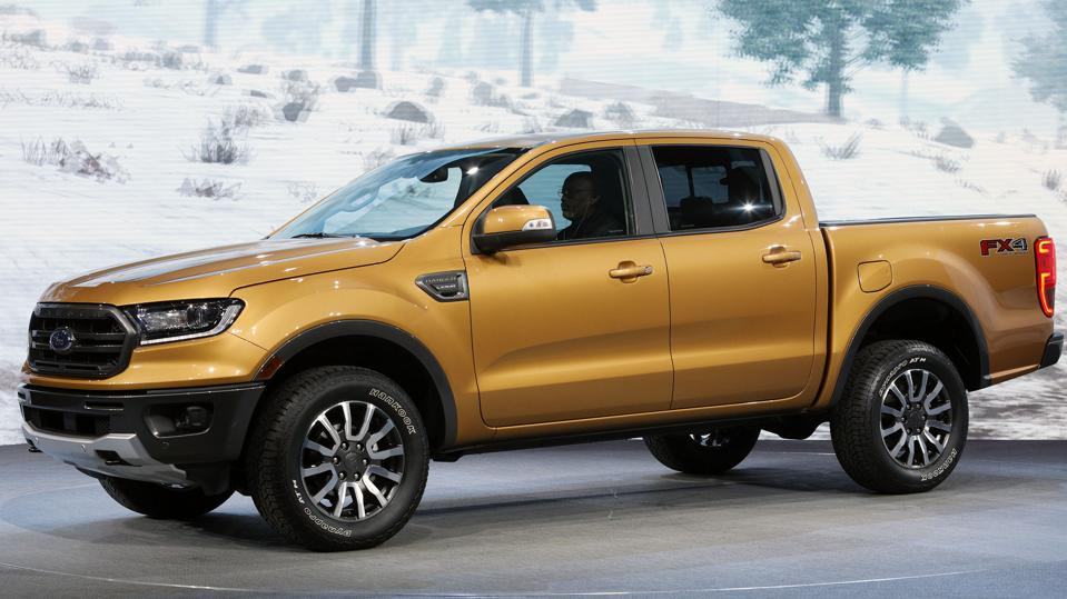 According to Cars.com, the Ford Ranger midsize pickup truck is the ″most American″ vehicle sold in the U.S. for 2020.