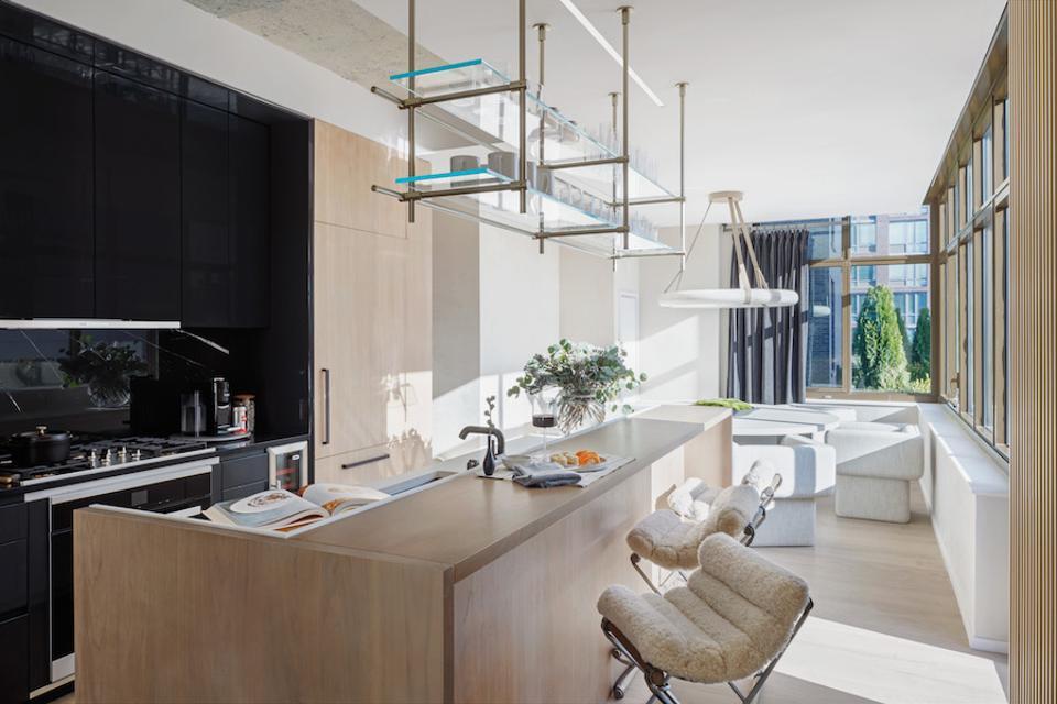 Designer kitchen at 196 Orchard Street