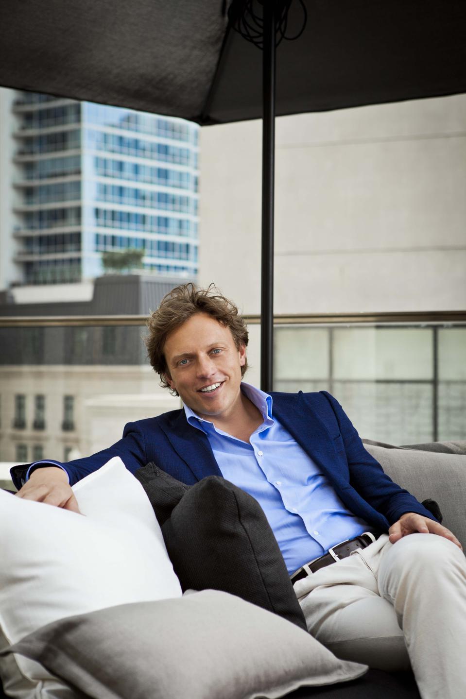 Fokke de Jong, CEO of Suitsupply