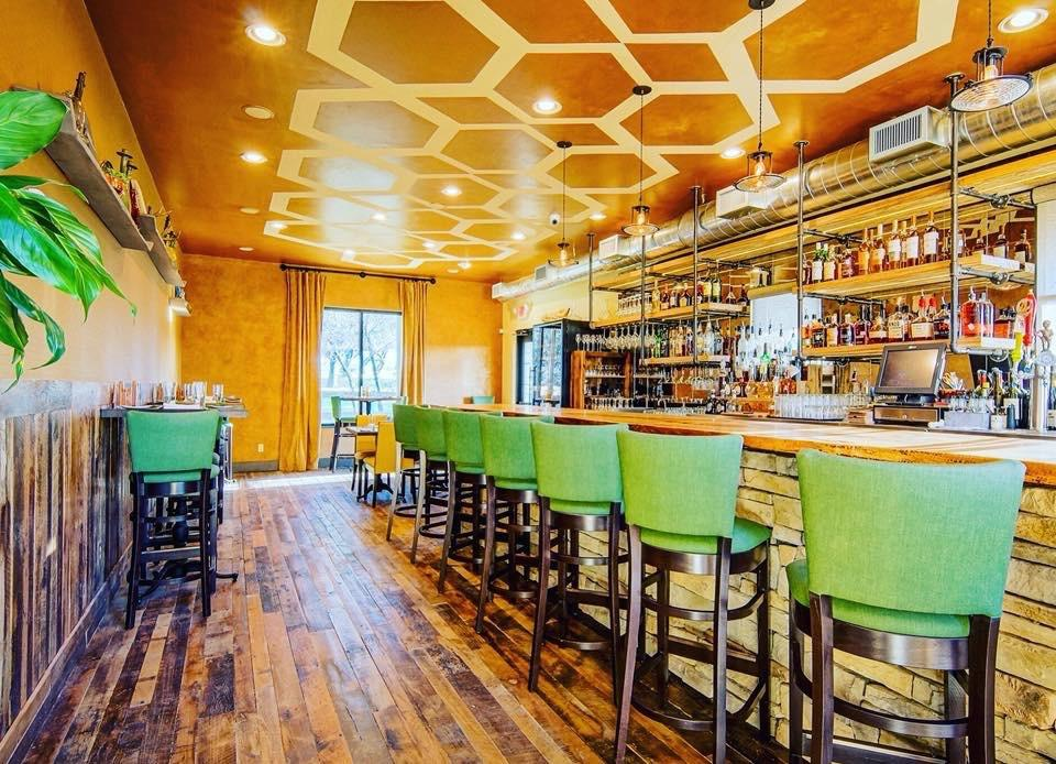 Apis Restaurant and Apiary interior.