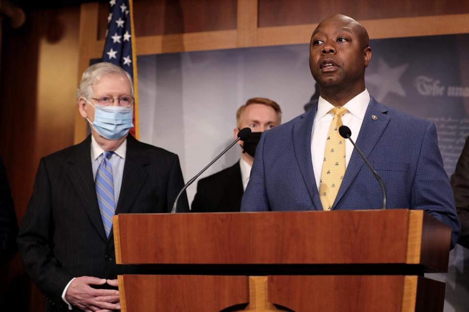 Senate Republicans Introduce Police Reform Legislation