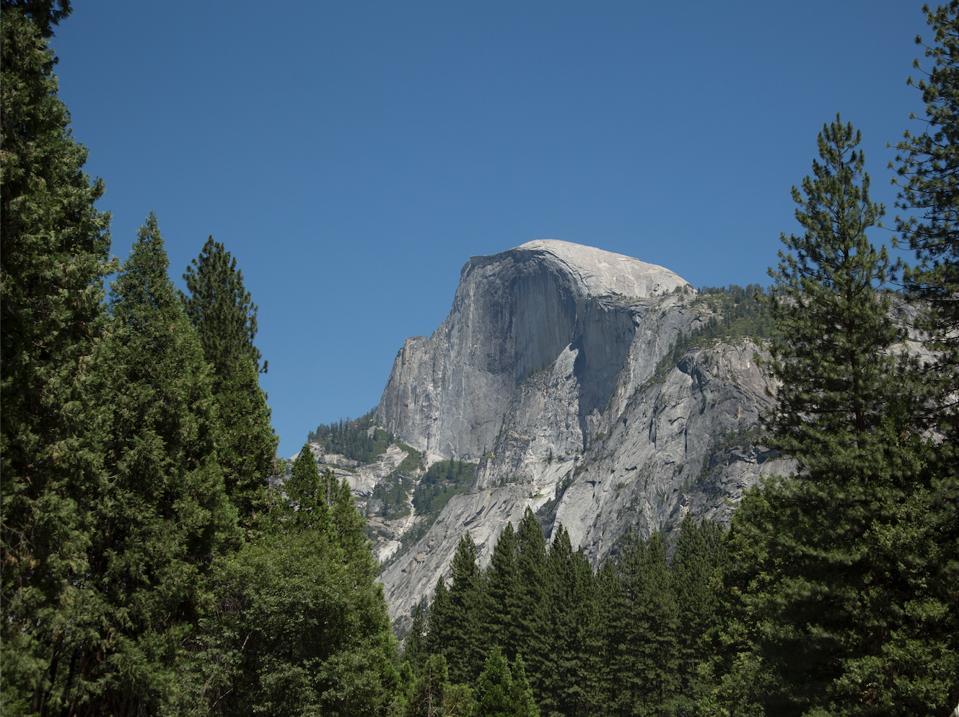 View of Half-Dome, Yosemite National Park, California