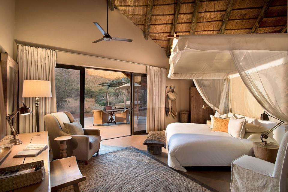 Conservation Africa News - A bedroom in the Tarkuni private villa