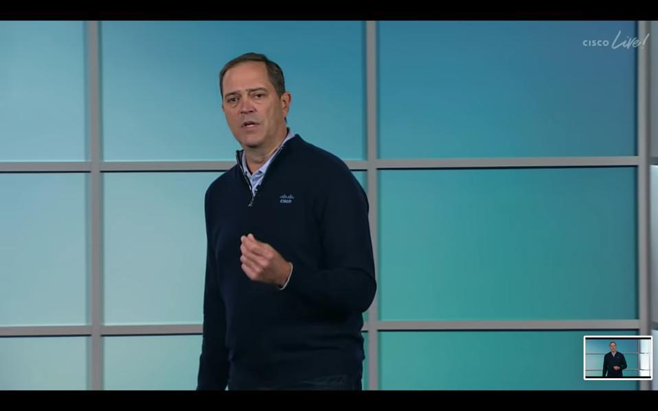 Cisco CEO Chuck Robbins delivers his keynote at Cisco Live! 2020