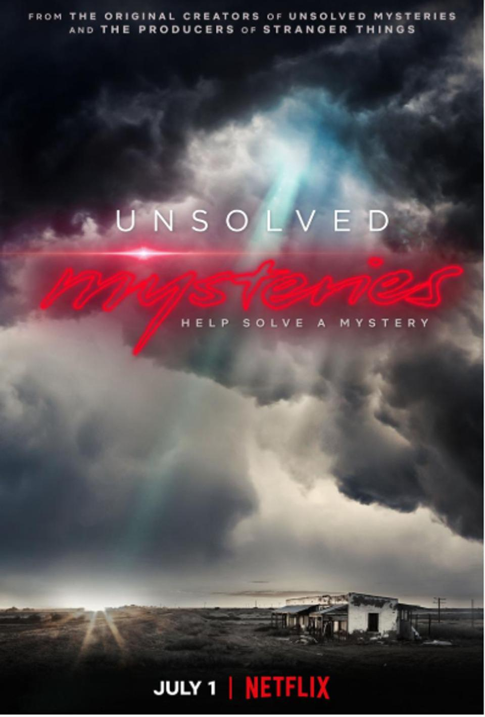 Show Art for Unsolved Mysteries on Netflix