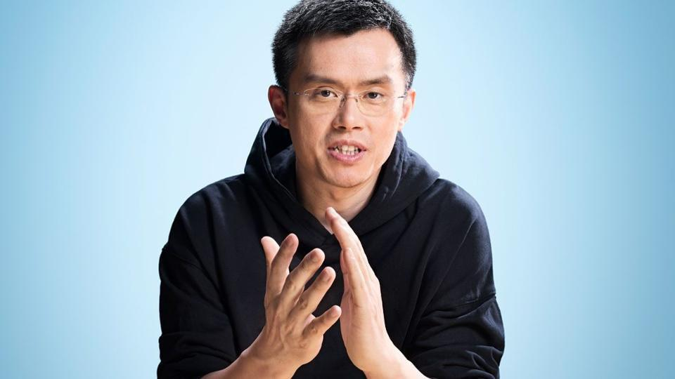 Chanpeng Zhao, Founder and CEO of Binance.