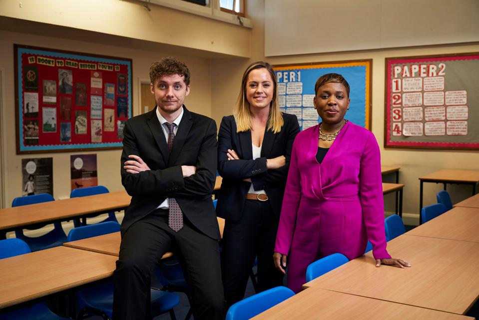 Three teachers from a London comprehensive school who supported this experiment spread across three weeks
