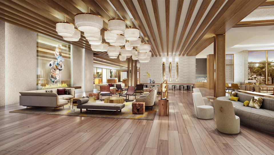 lobby of The Ritz-Carlton, Paradise Valley Scottsdale arizona