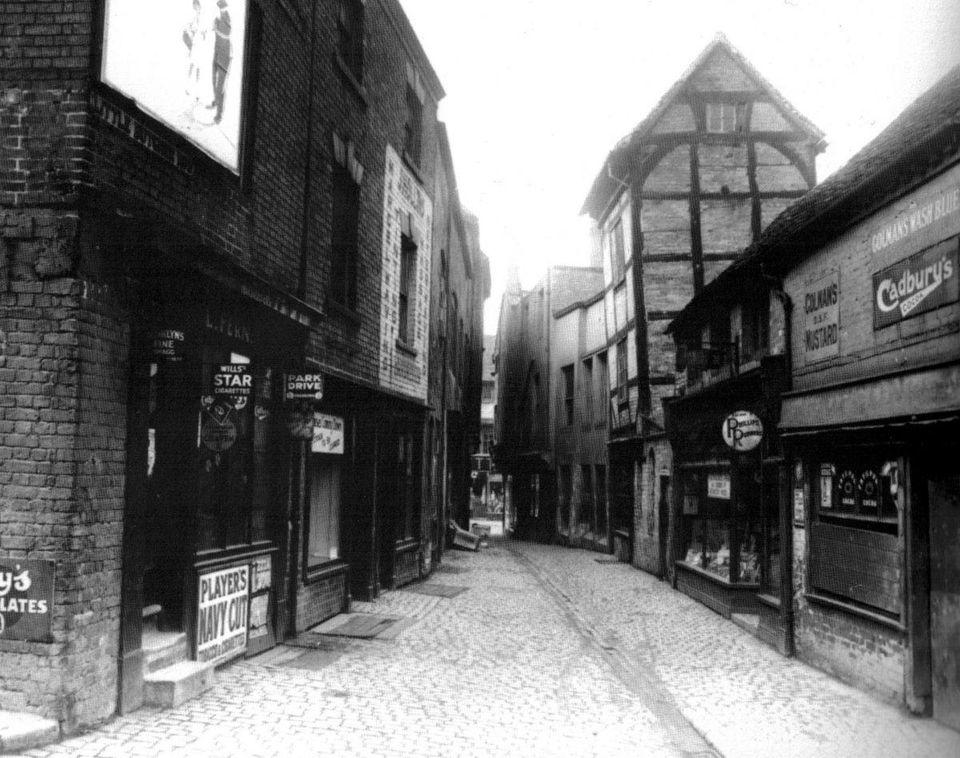 Coventry's Little Butcher Row