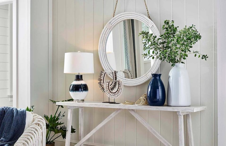 Regina Andrew x Coastal Living Indigo Glass Table Lamp