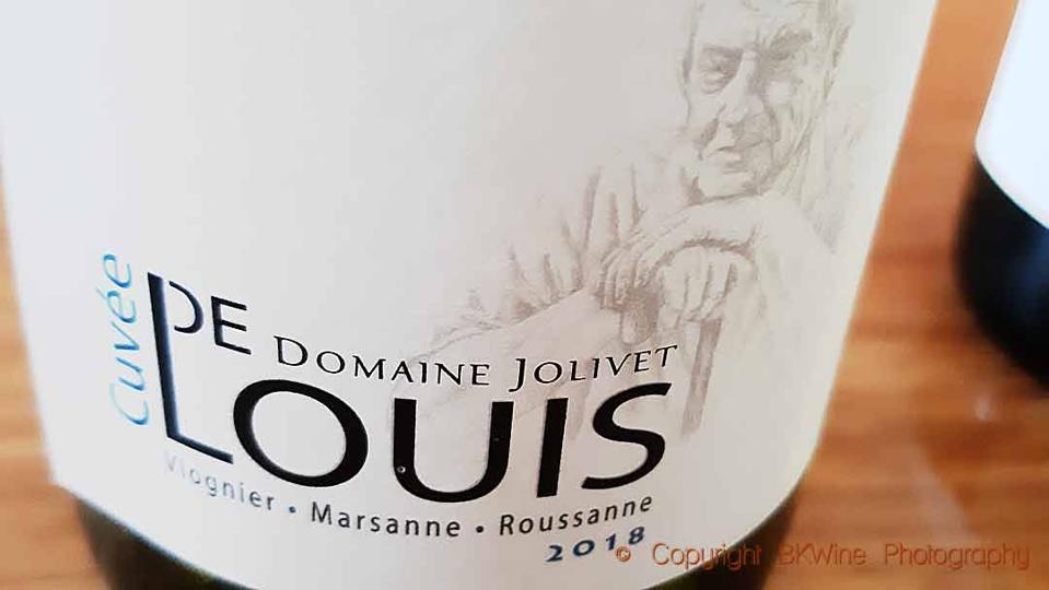 Domaine Jolivet Cuvée de Louis Blanc, Rhone Valley