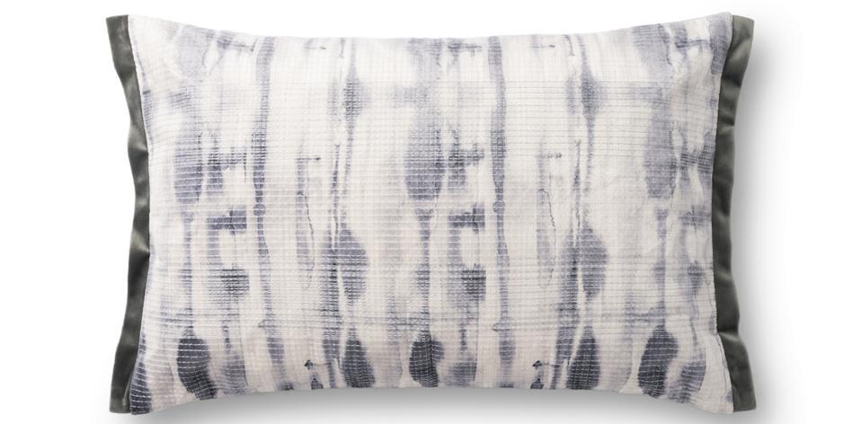 Justina Blakeney X Loloi Grey Dye Pillow