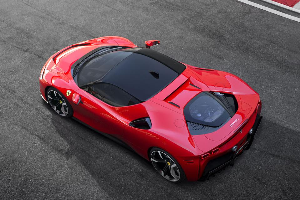 The Ferrari SF90 Stradale has some better angles than others, and this is the best.