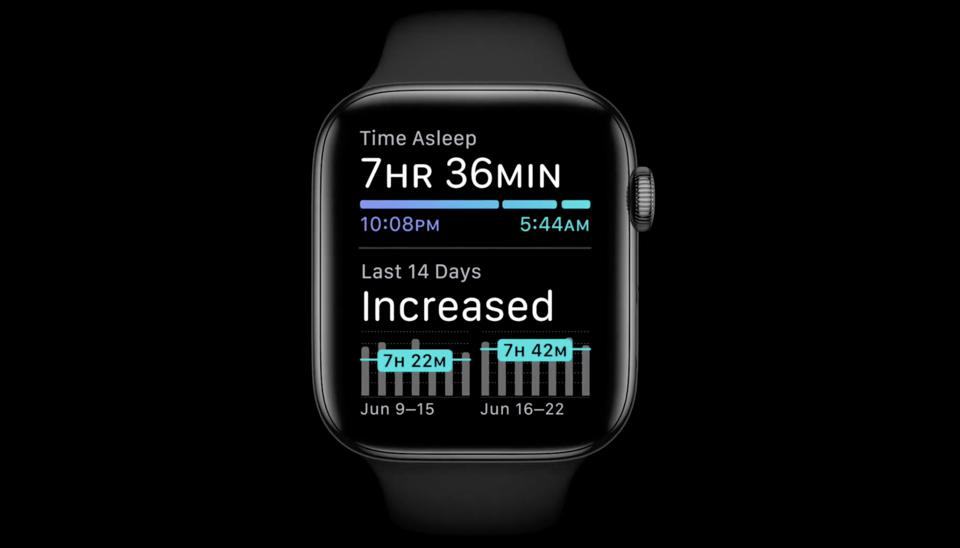 Sleep Tracking on Apple Watch