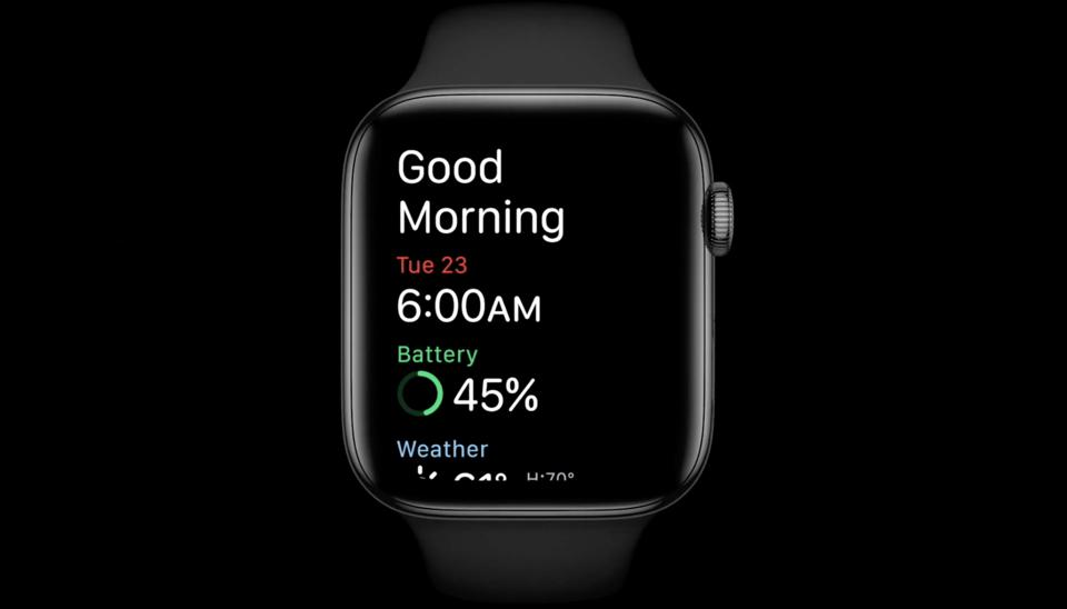 Apple Watch Sleep tracking