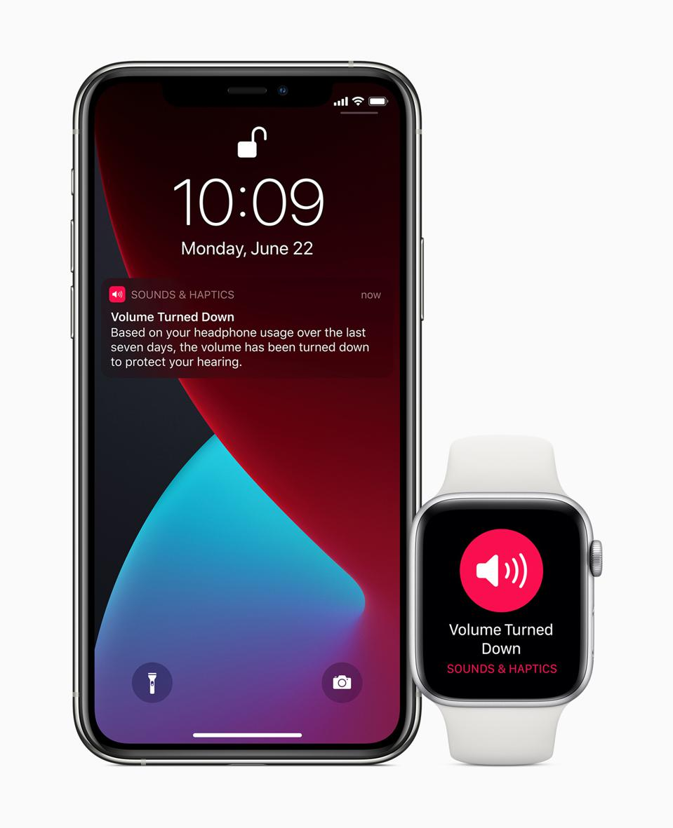 Headphone audio in watchOS 7
