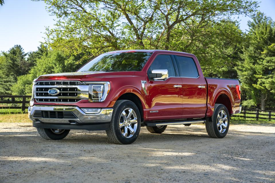 2021 Ford F-150 - All The Important Stuff Is Under The Skin