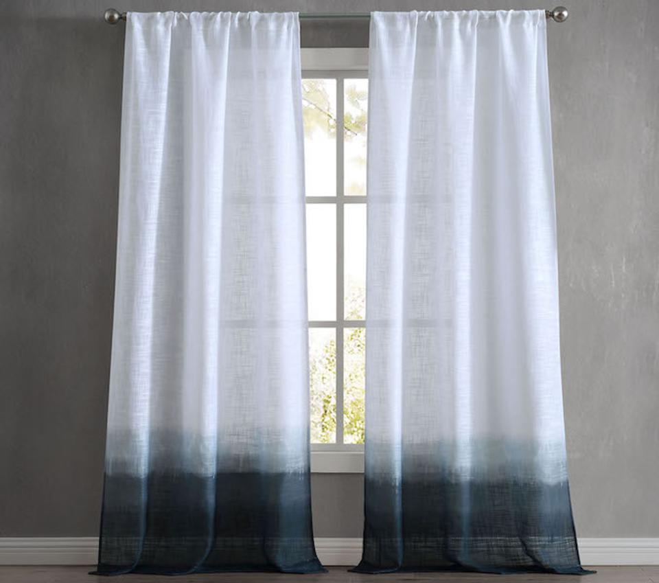 French Connection Olivia Dip Dye Curtains