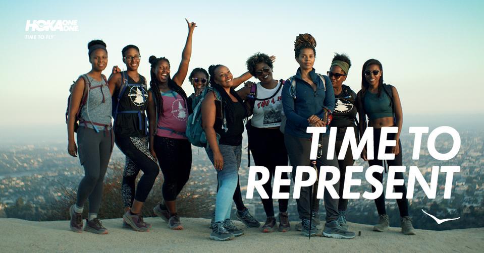 HOKA X LA-based hiking group Black Girls Trekkin'