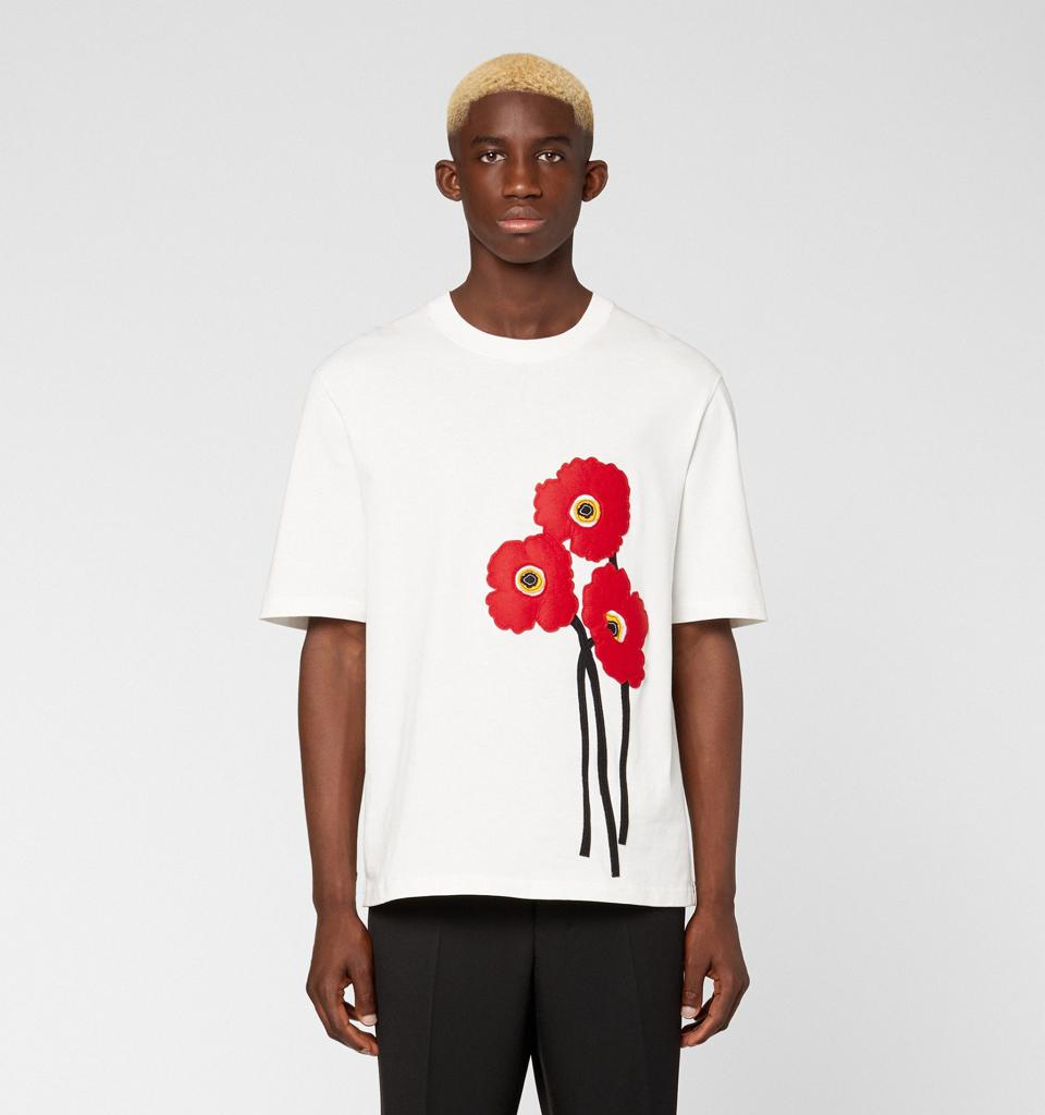 Ami Paris Poppy Tee-Shirt
