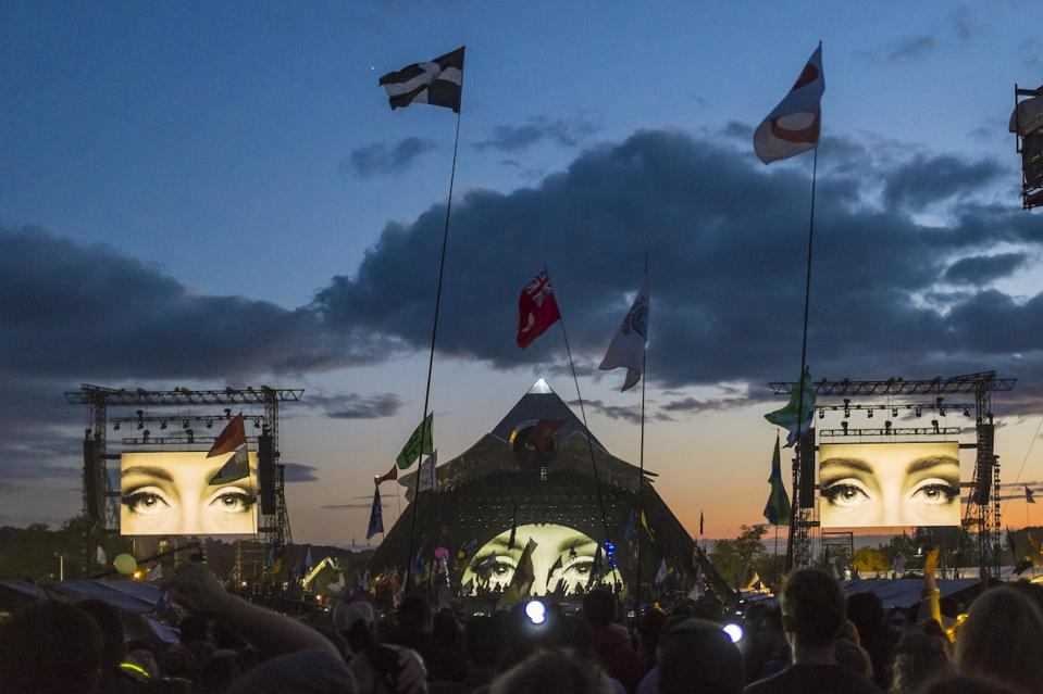 Glastonbury Festival Adele performance
