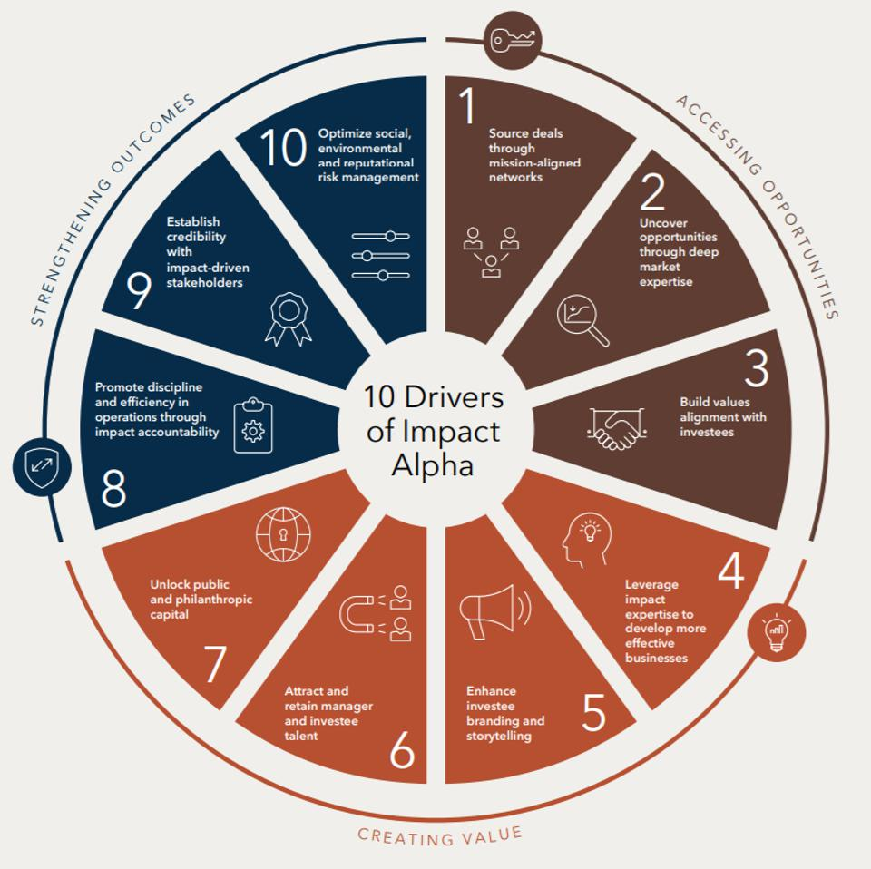 The 10 drivers of impact alpha