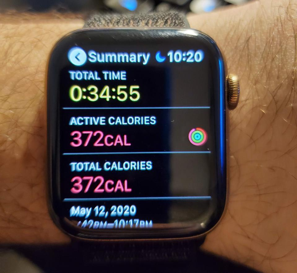 The Supernatural workout app can be paired with an Apple Watch to measure progress towards health goals.