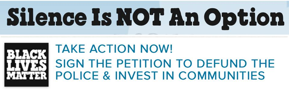 Button To Take Action To Defund The Police On Ben & Jerry's Site: https://www.benjerry.com/values