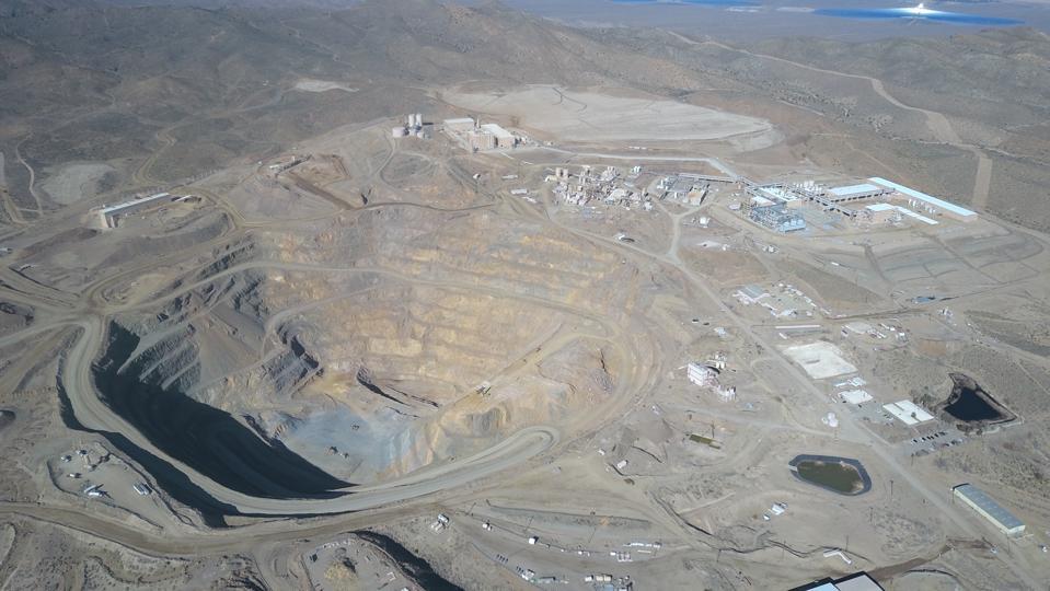 The Mountain Pass mine