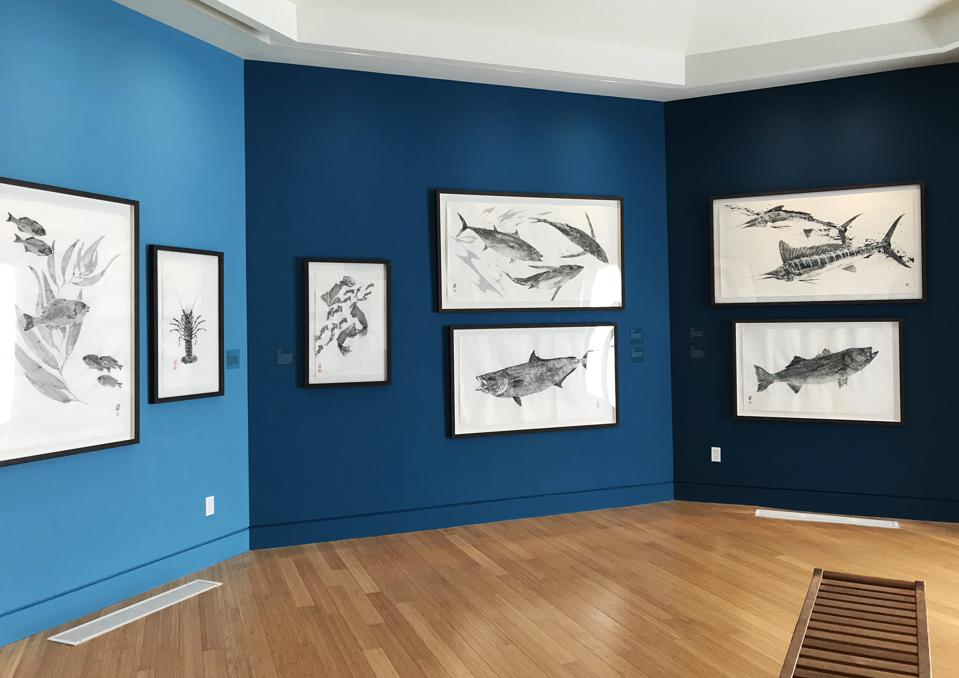 Catalina Island Museum, ″Soot & Water″ exhibition gallery image.