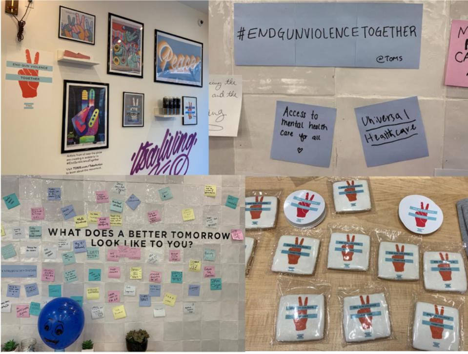 Buttons, Hashtag Messaging & Art In Williamsburg, Brooklyn Store