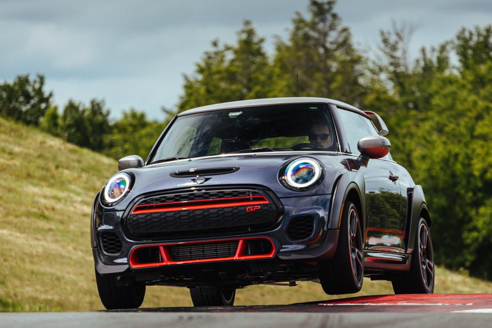 2020 Mini John Cooper Works GP Special Edition on track at Monticello Motor Club in upstate New York