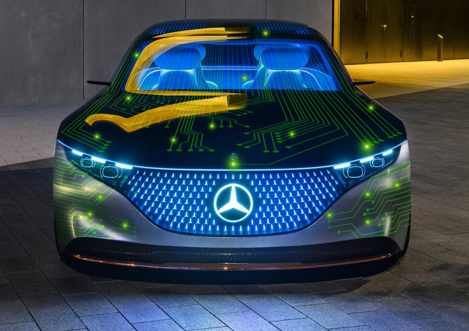 Mercedes-Benz autonomous cars