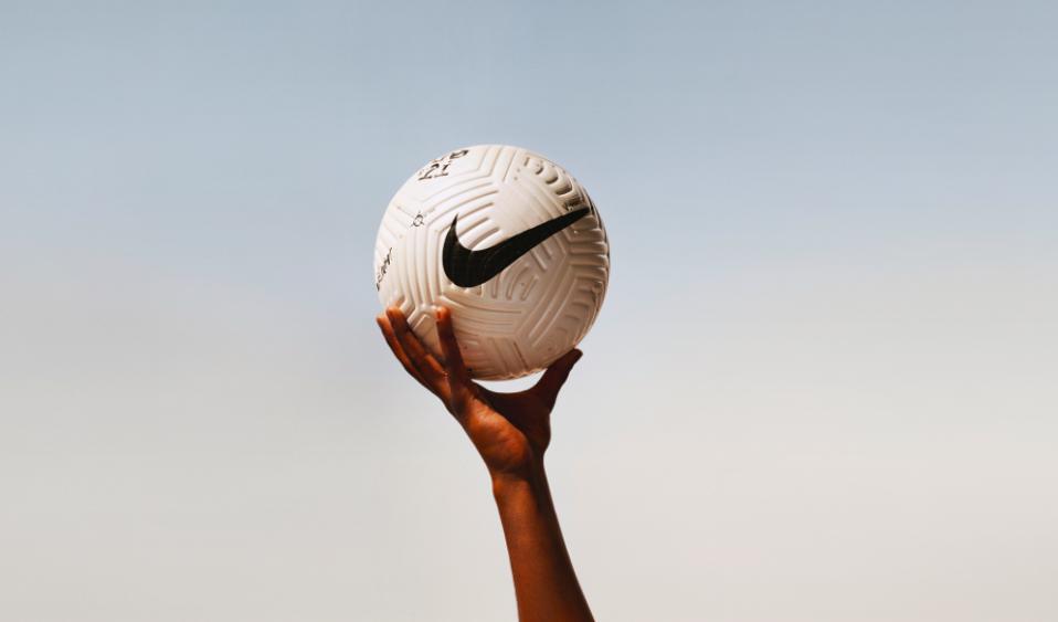 Nike Fußball Flug