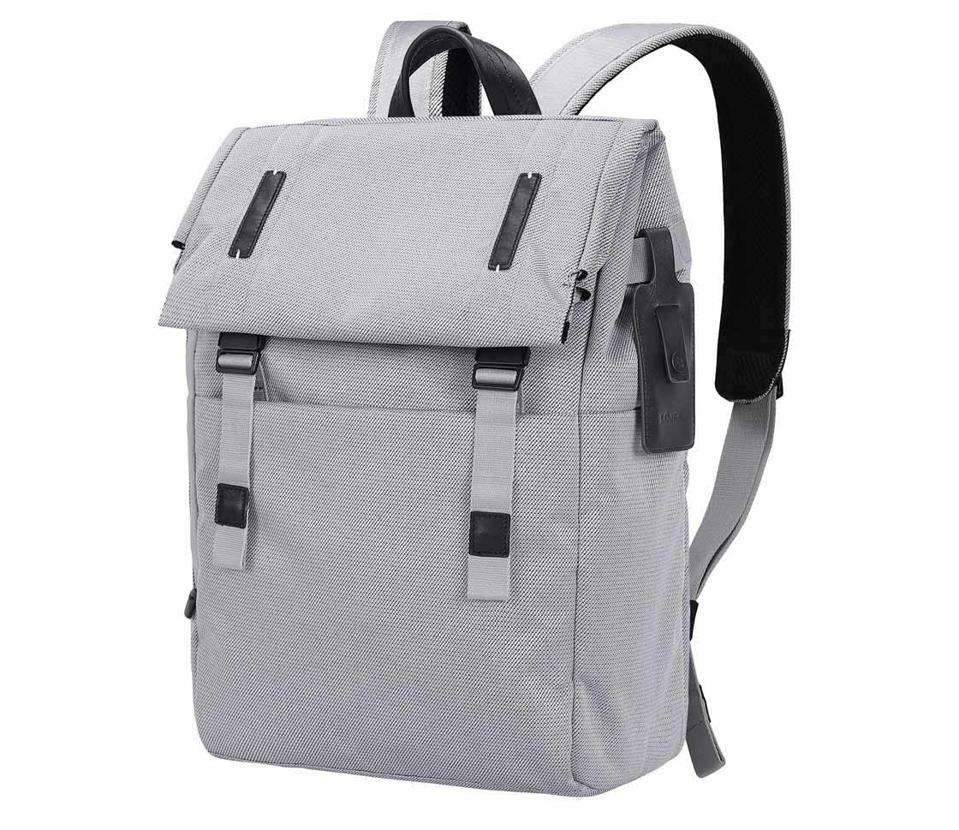 gray packback