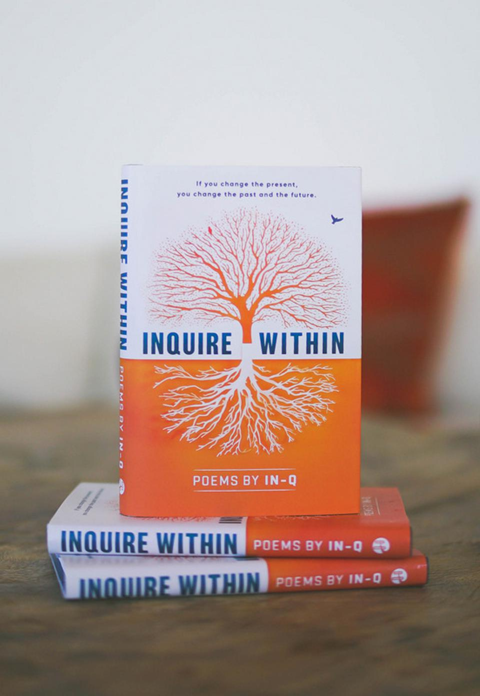 InQ's new book of poetry ″Inquire Within″