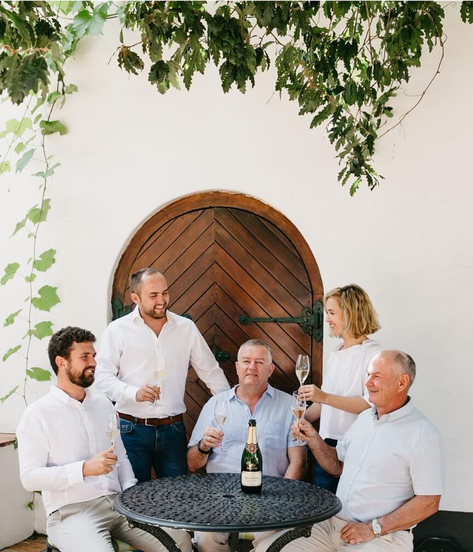 The Malan Family at Simonsig Wine Estate