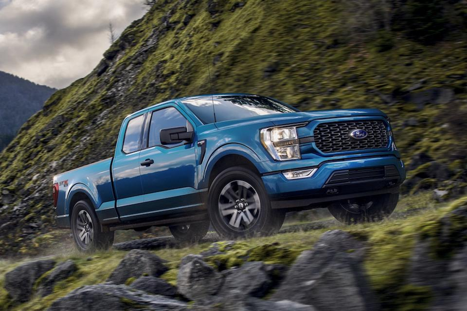 The all-new Ford F-150 debuted online.