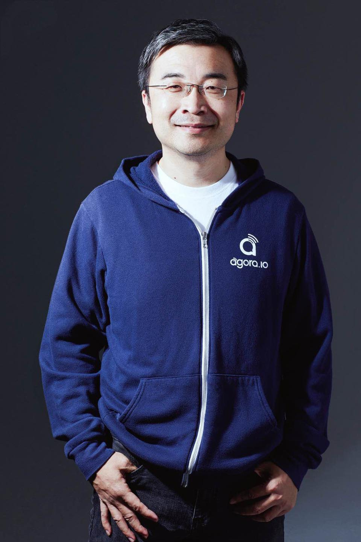 Agora CEO Tony Zhao