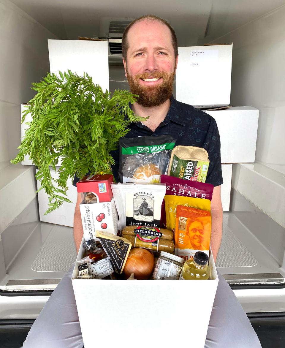 Homegrown Goods is a new grocery delivery service in Seattle.