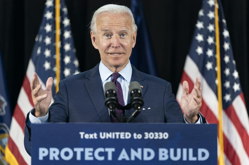 Presidential Candidate Joe Biden Speaks In Lancaster On Health Care