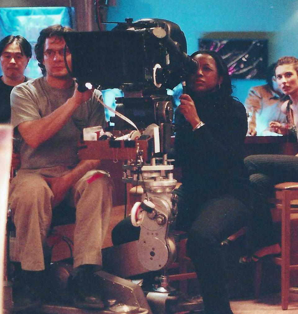 Felicia D. Henderson behind the camera on Soul Food