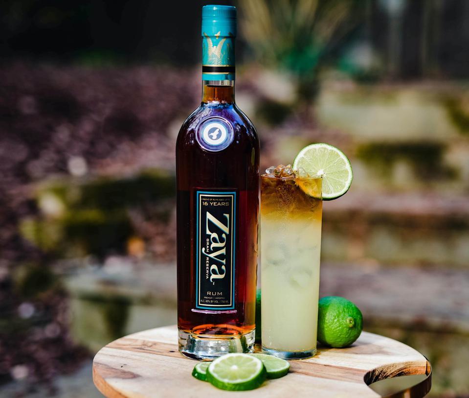 Zaya Rum Zaya Ginger Tropic Summer Cocktail Best