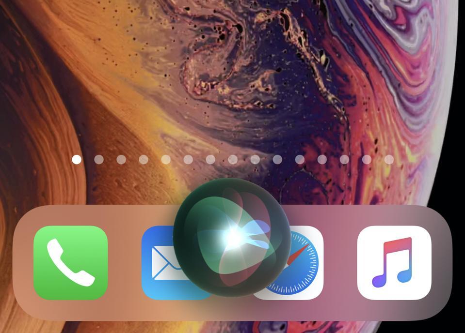 Siri compact UI