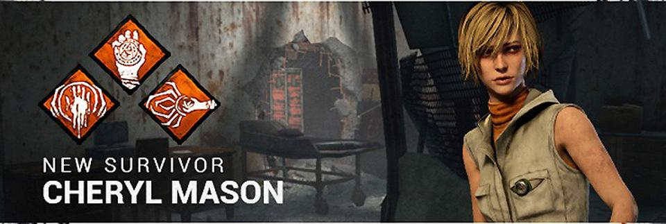 Cheryl Mason, formerly Heather Mason, Ability Set from Dead by Daylight/Silent Hill Crossover