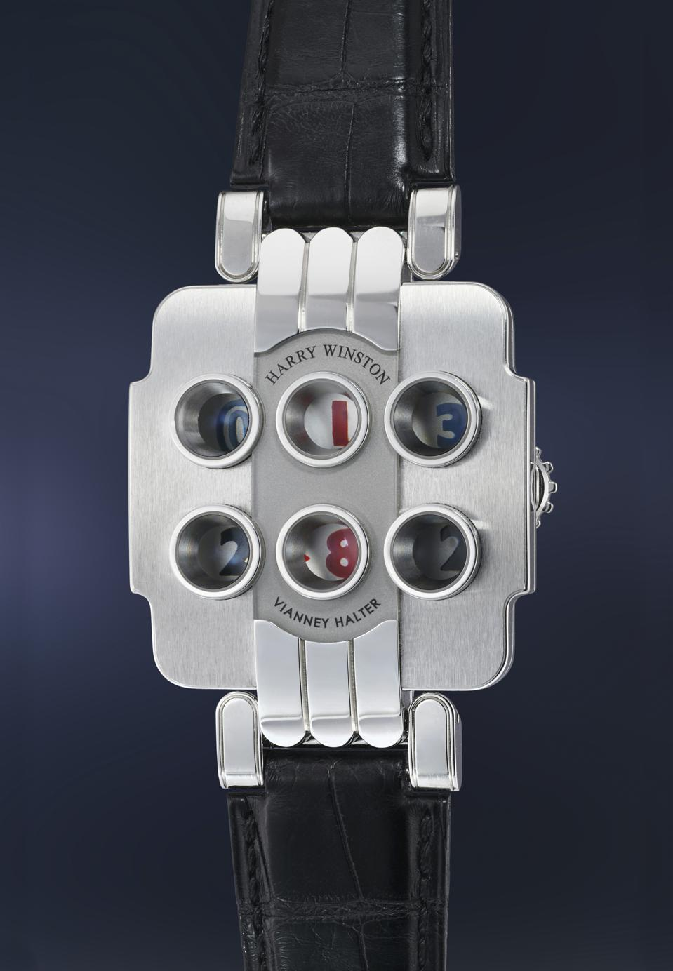 Opus 3 watch by Harry Winston sold for $178,000