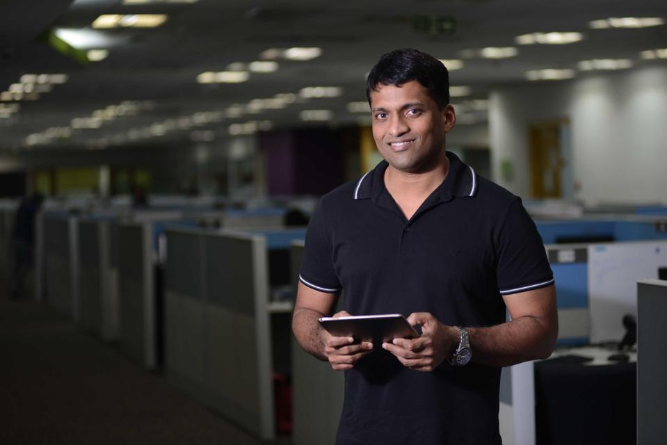 Byju Raveendran, founder and CEO of Byju's learning app.