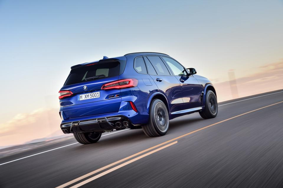With a larger luggage area and more head and shoulder room, the X5M is the more practical.